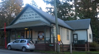 Ag Hall, Mayne Island B.C.